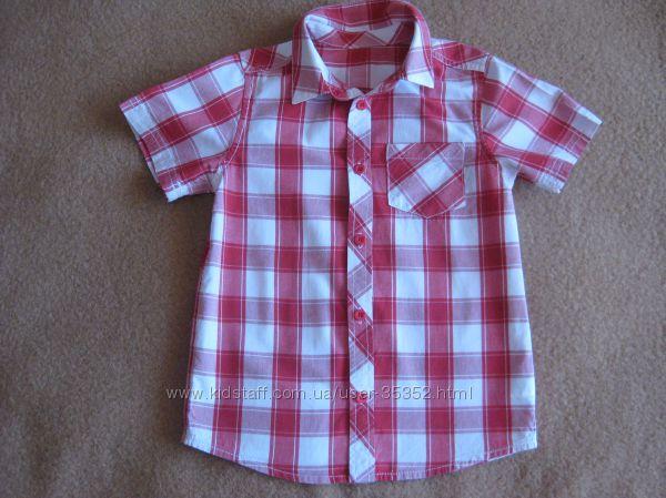 Рубашка тенниска Mothercare 122см, 6-7 лет