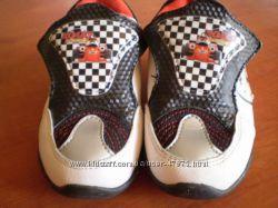 Кожаные кроссовки в стиле Тачки Маквин стелька 13. 5см