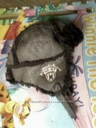 Next шапка-авиатор на 3-6 лет с рукавичками