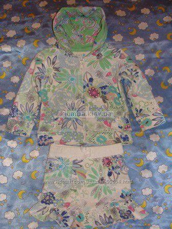 Яркий костюм на девочку Children place 86-92