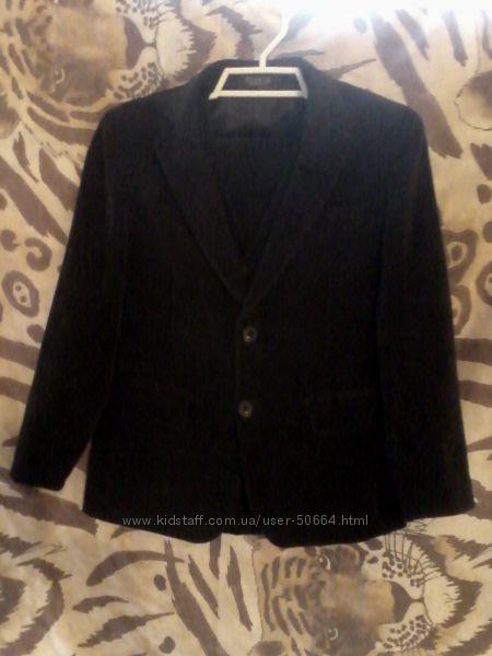 Rodeng безупречное качествоСтрогий вельветовый костюм-тройка-школьная форма