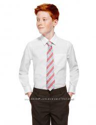рубашка в школу M&S для мальчика7  лет