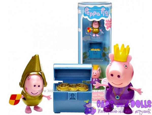 Peppa Pig принцесса пеппа и сэр джордж сильвер, с аксессуаром
