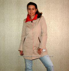 Плащ-куртка Ellen Trecy кремовый беж США XS-S