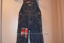 Полукомбинезон джинсовый OshKosh , унисекс.