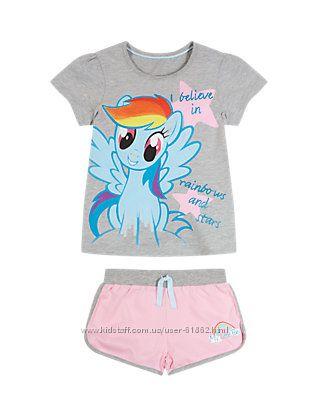 Пижама My little pony M&S 1, 5-2г