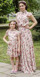 Familylook. Одинаковые платья мама и дочка