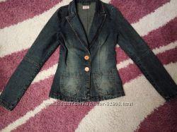 джинсовый пиджак стрейч