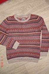 Теплый, мягкий свитер мальчику 10 лет