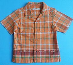 Рубашки летние мальчикам 1-3-5 года