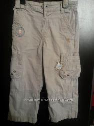 Летние брюки мальчикам на 3, 5-5 лет - 3 пары