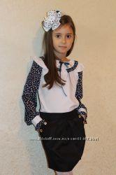 Школьные блузки. Регланы. Платья, юбки для школьниц