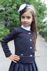 Школьные болеро, пиджаки для девочек