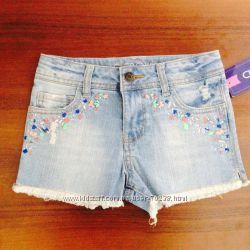 Стрейчевые джинсовые шорты винтаж Cherokee