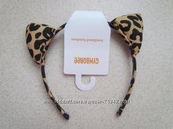 Обруч-ушки леопард и сумочки  Джимбори