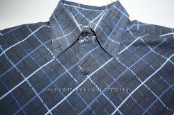 Рубашки в школу, NEXT, GEORGE, TESCO. 6-7 лет. 3 шт