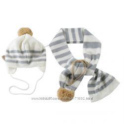 Наборы шапка шарф WOJCIK для девочек