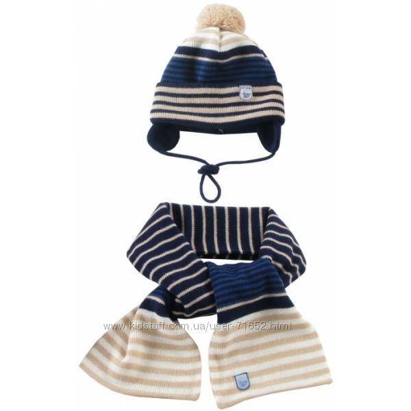 Наборы шапка шарф WOJCIK для мальчиков
