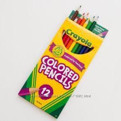 Crayola оригинал - смываемые, восковые, обычные, краски, мелки.