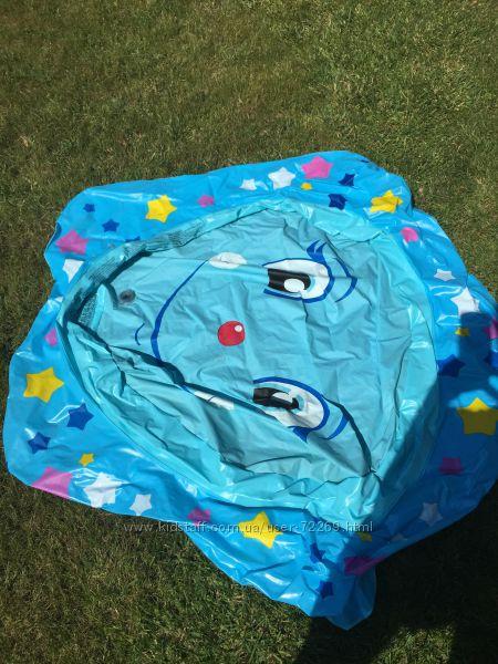 Надувной бассейн intex для малышей