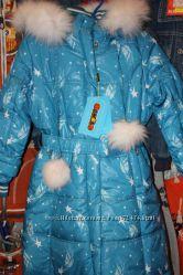 Новинки пальто зимние, парки Kiko  и Donilo рост 122-146