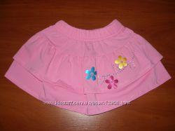 Яркие красивые юбки р. 92-98-104-110 Салатовая, голубая, розовая