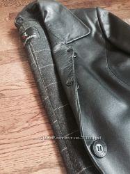 Пальто , кожа натуральная размер