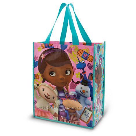 Яркие многоразовые сумки Disney