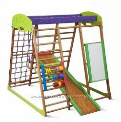 Детский спортивный комплекс для квартиры Карамелька виолет