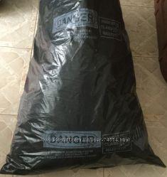 Черные полиэтиленовые мешки