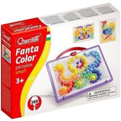 Мозаика Quercetti 0920-Q для детей от 3 лет - 160 фишек