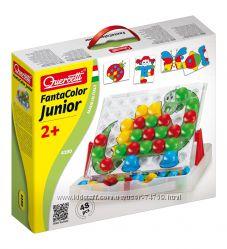 Мозаика Quercetti 4190-Q для детей от 2 лет - 48 больших фишек