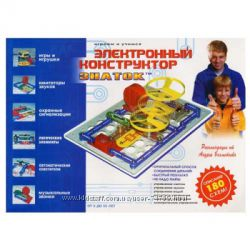 Электронный конструктор Знаток для мальчиков 180 схем арт. REW-K003