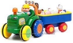 Трактор с Трейлером на укр. языке - оригинал в наличии
