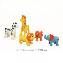 KIDDIELAND Игровой набор - Дикие животные арт 054106 - оригинал в наличии