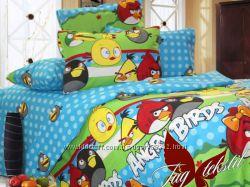 Angry Birds полуторные комплекты для детей