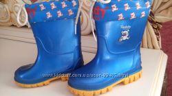 резиновые сапожки Teddy shoes