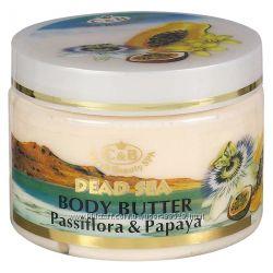 Сливки масло для тела Пассифлора и папайяот Саre & Вeauty Израиль