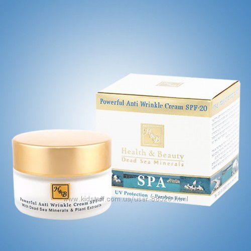 Сильнодействующий крем от морщин с SPF-20. Health & Beauty Израиль