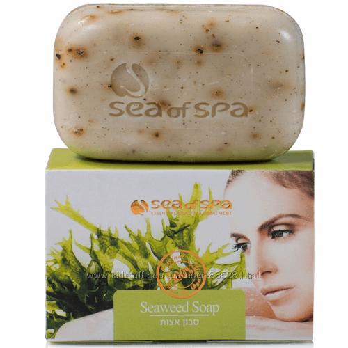 Антицеллюлитное мыло с морскими водорослями, 125гр. Sea of Spa Израиль