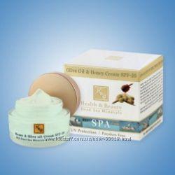 Крем с медом и оливковым маслом SPF-20. Health & Beauty Израиль