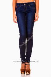новые джинсы женские темно-синие Danpaisi