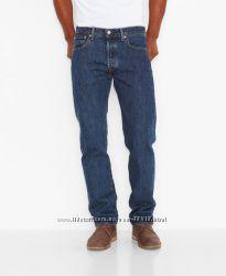 Настоящие Американские джинсы  Levis 501 - Dark Stonewash