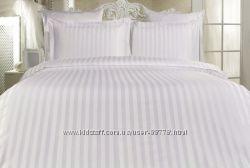 Белое постельное Le vele серия Отель в полоску