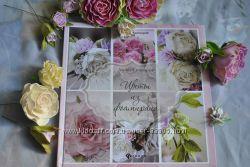Книга цветы из фоамирана