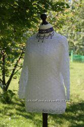 Вязаный пуловер - ручная работа