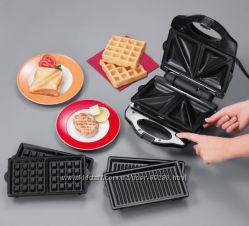 Бутербродница-вафельница-гриль 3в1 Клатроник