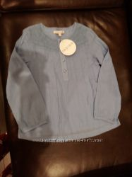 Лёгкая туника  рубашка MARKS&SPENSER на 5-6 лет