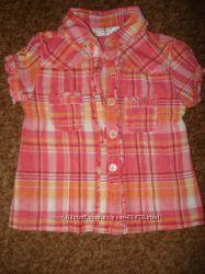 Тонюсенькая рубашечка на жаркую погоду