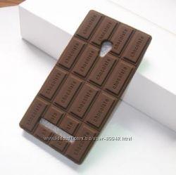 Силиконовый чехол на ASUS Zenfone 5 с запахом шоколада
